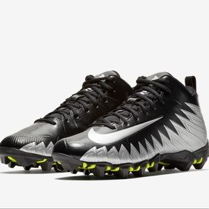 Nike Alpha Menace Shark Football Cleats 14 Wide